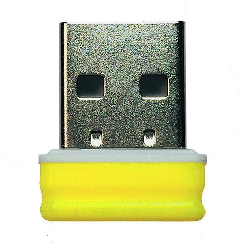 P1 USB Stick  Gelb Blau