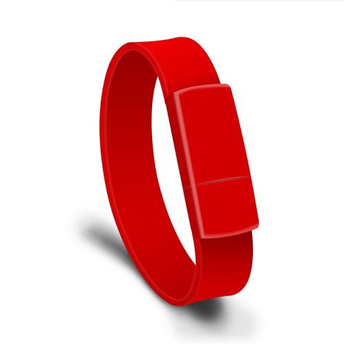 USB Stick Armband Rot