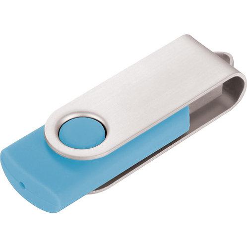 USB Stick Swivel Twister Hellblau 2.0