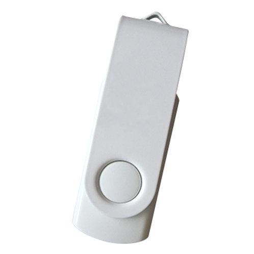 USB Stick Swivel Twister Weiß-Weiß 2.0