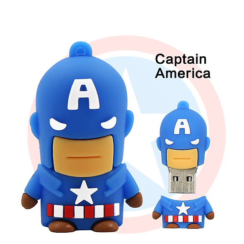 USB Stick - Captain America Super Heros