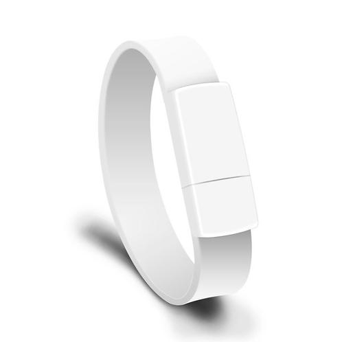 USB Stick Armband Weiß