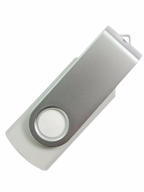 USB Stick Swivel Twister Weiß 2.0