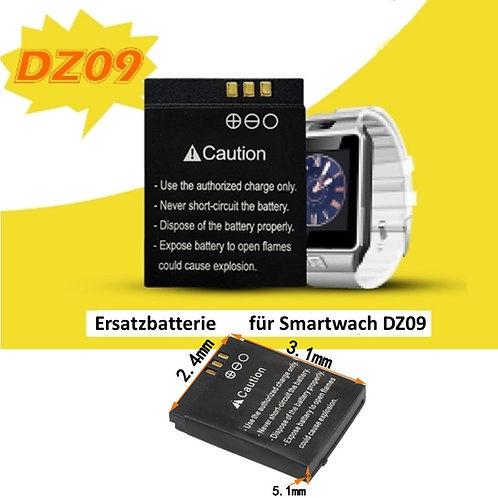 Ersatzbatterie für Smartwatch DZ09
