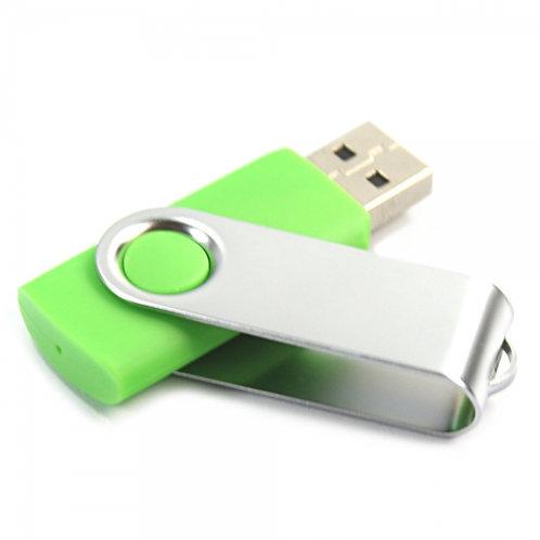 USB Stick Swivel Twister Grün 2.0