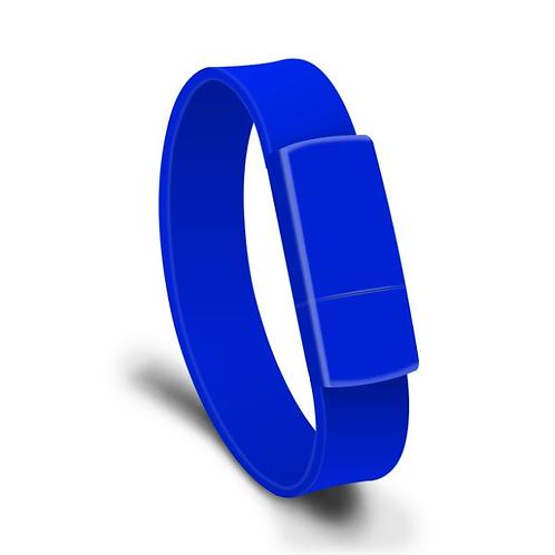 USB Stick Armband Blau