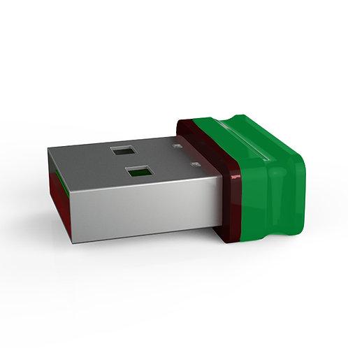 P1 USB Stick Grün Schwarz
