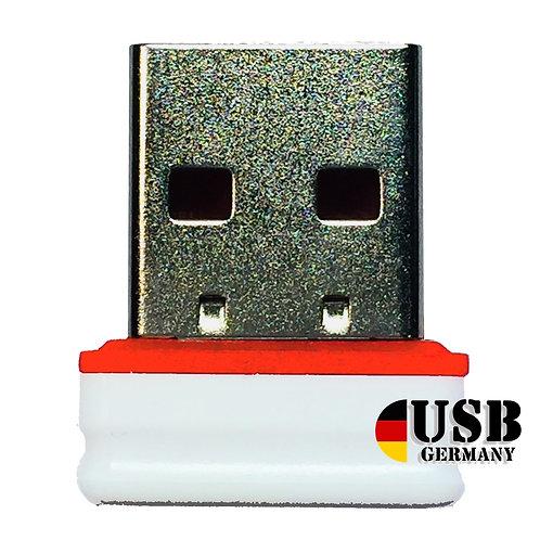 P1 USB Stick  Weiß Rot