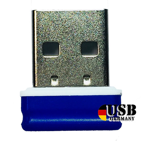 P1 USB Stick Blau Weiß