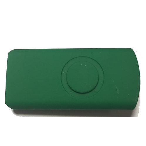 Dunkelgün Halbschale für USB Stick Swivel / Twister