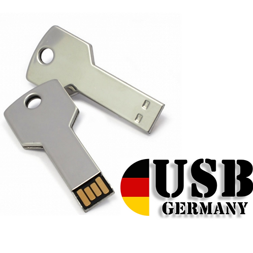 Key USB Stick Chrome 16GB