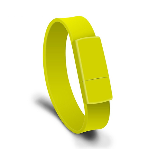 USB Stick Armband Gelb