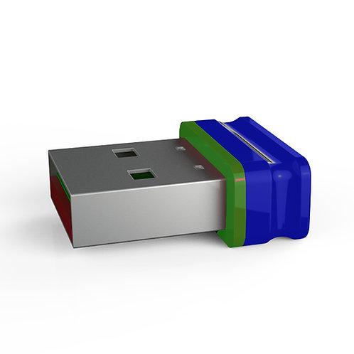 P1 USB Stick Blau Grün