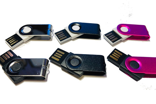 1GB MINI SWIVEL USB Stick