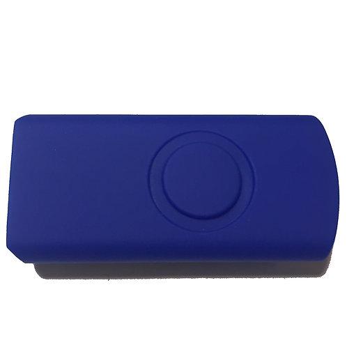 Blau Halbschale für USB Stick Swivel / Twister