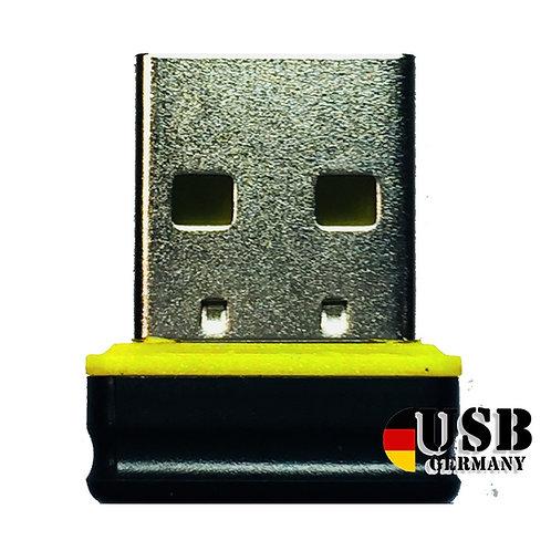 P1 USB Stick  Schwarz Gelb