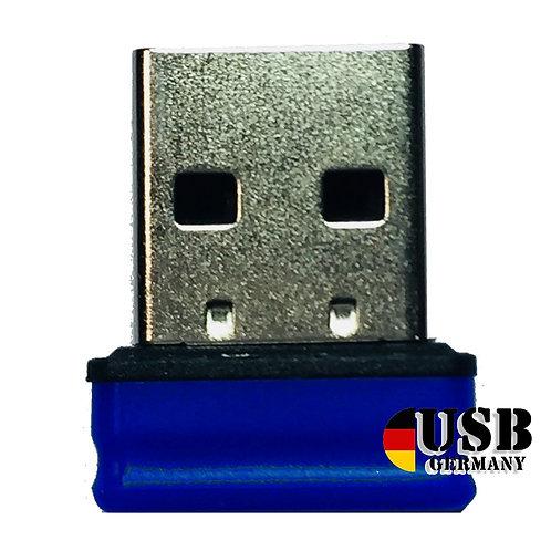 P1 USB Stick Blau Schwarz
