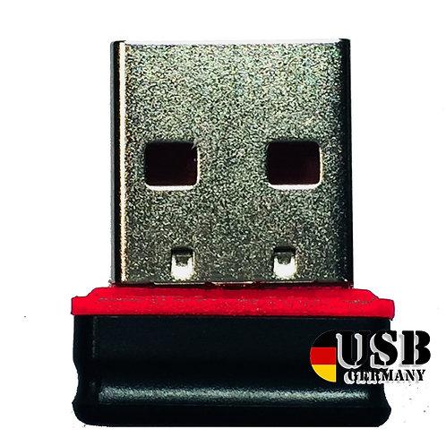 P1 USB Stick  Schwarz Rot