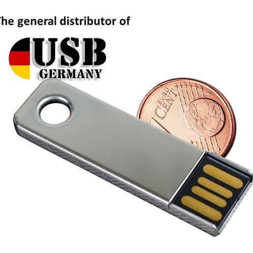 Mini Key USB Stick Silber 4GB