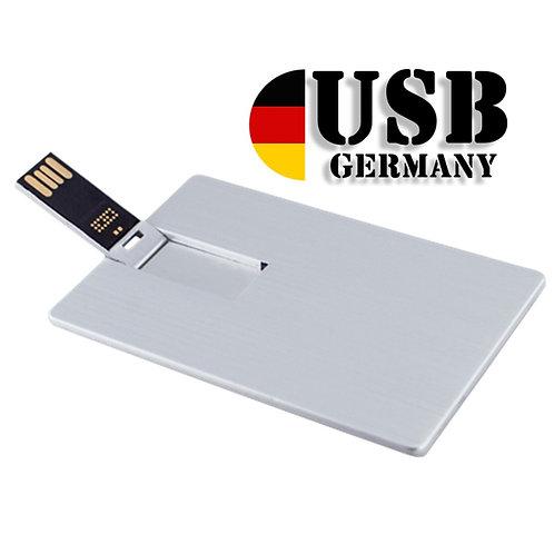 Metall USB Stick Creditcard 1GB