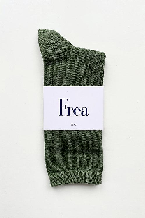FREA Asker Yeşili Çorap