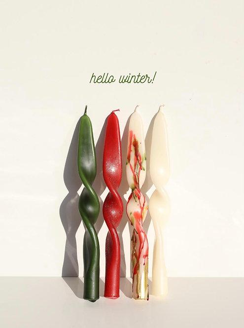 MUUMART Twisted Mumlar - Kış Özel Tasarım -