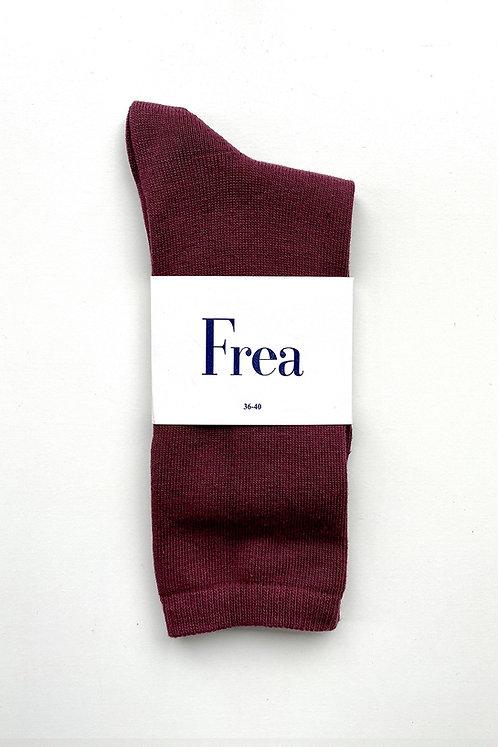 FREA Bordo Çorap