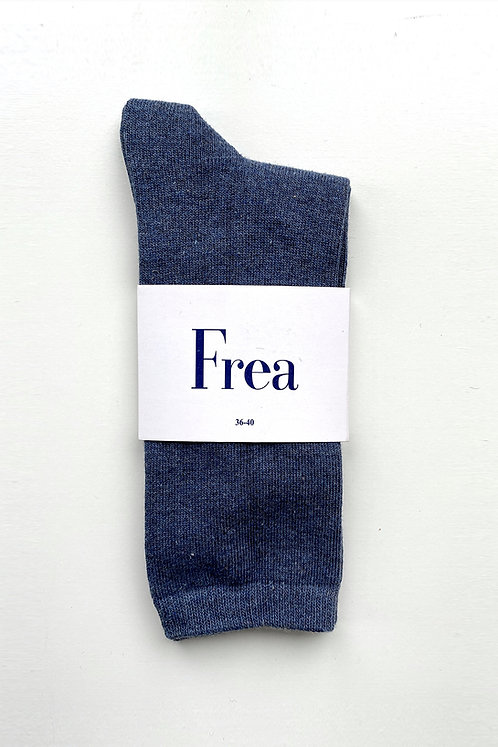 FREA Mavi Kırçıllı Çorap