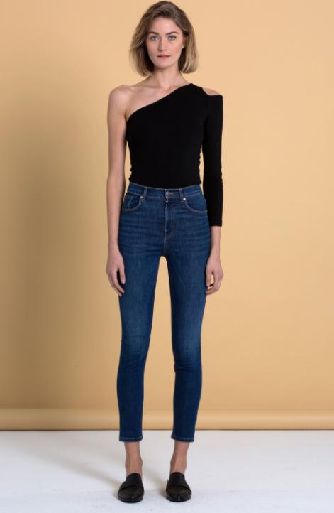 A HİDDEN BEE Yüksek Bel Skinny Jeans