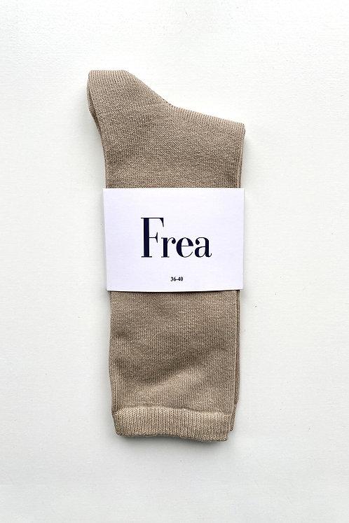 FREA Bej Çorap