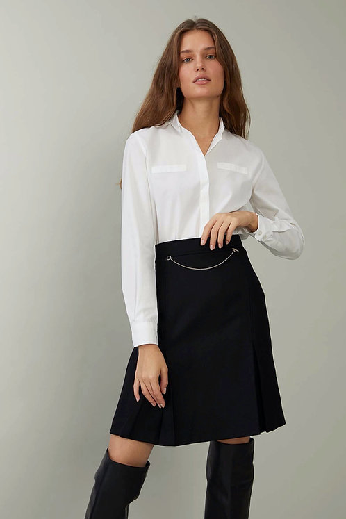 HARMONIOUS English Pearl Yakası Düğmeli Slim Fit Gömlek
