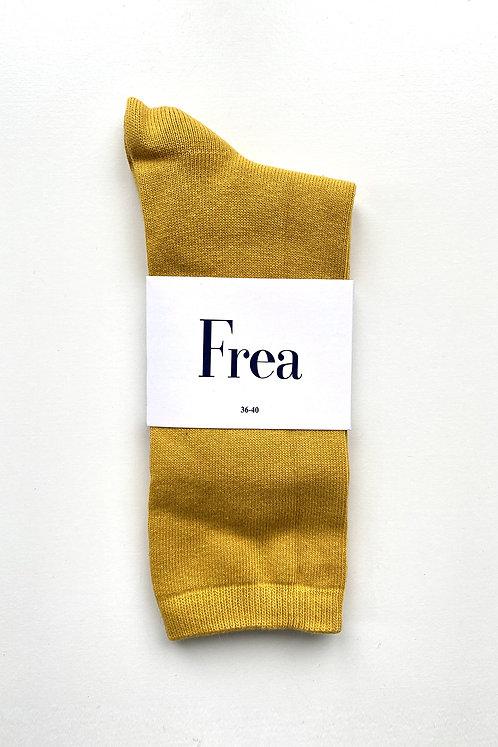 FREA Sarı Çorap
