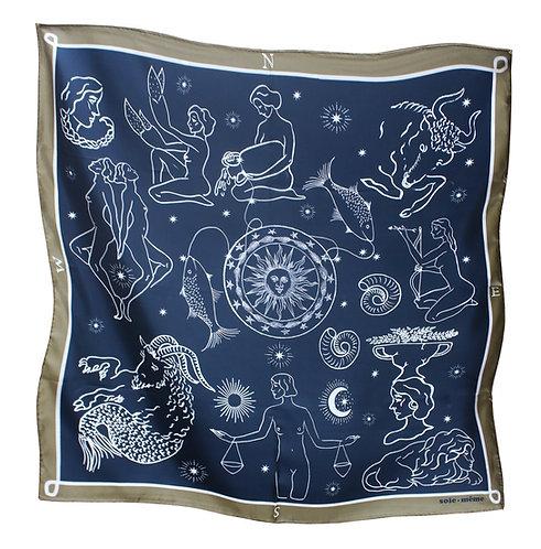 SOIE-MEME Zodiac Fular