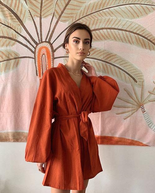 CHILLAX Alice Kiremit Kimono