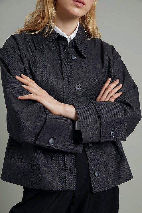 HARMONİOUS Kısa Oversize Ceket