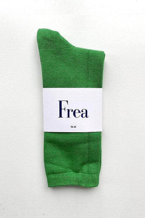 FREA Neon Yeşil Çorap