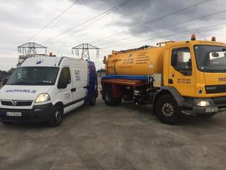 Bigger fleet for Bigger Jobs, MK Drains Commercial & Industrial Services.
