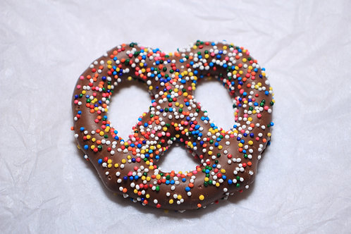 Chocolate with Colorful Sprinkles