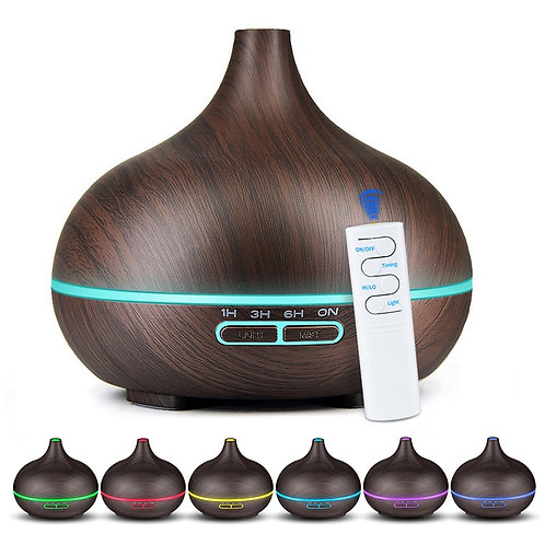550ML Remote Control Air Humidifier Essential Oil Diffuser Aromatherapy