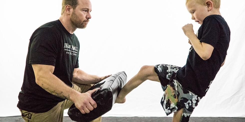 Krav Kids Belt Test