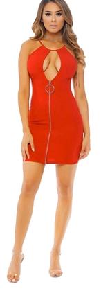 Open Chest Dress