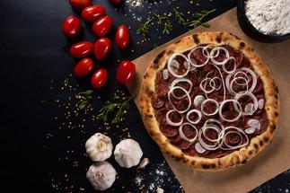 Fotografia de Gastronomia Pizza de Calab