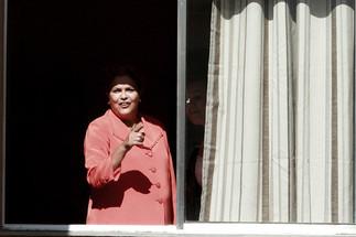 Dilma durante inauguração Minha Casa Minha Vida.