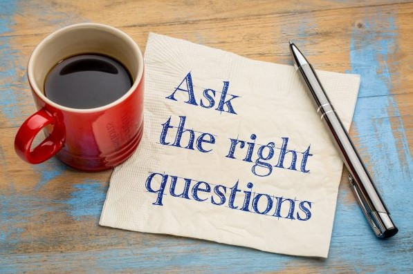 Ask the right questions in order to improve your product!
