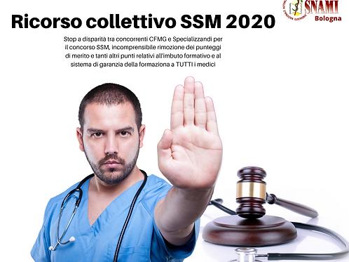 Adesione ricorso Bando SSM 2020