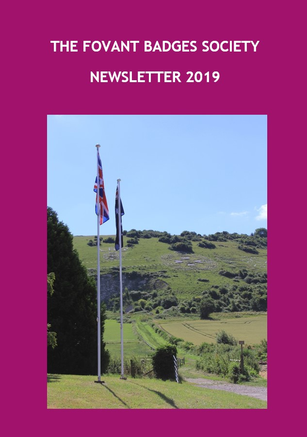 Front Cover of the Newsletter - a dashing pink!