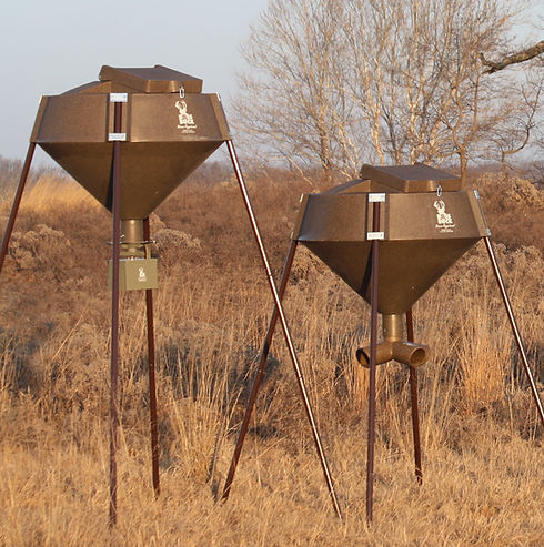 Boss Buck Feeder with Gravity or Auto Sp