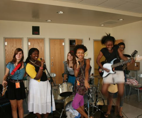 Songwriting Workshops at Willie Mae Rock Camp for Girls