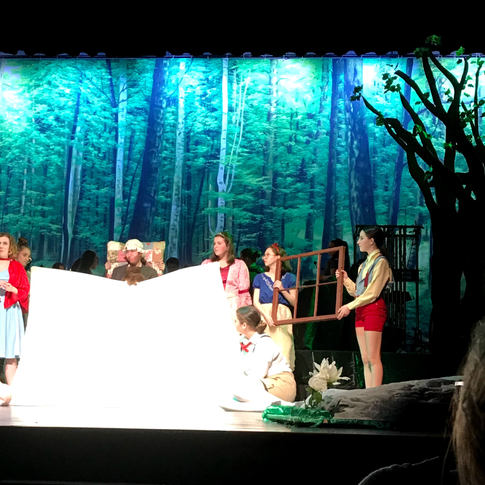Into The Woods at Kennebunk High School