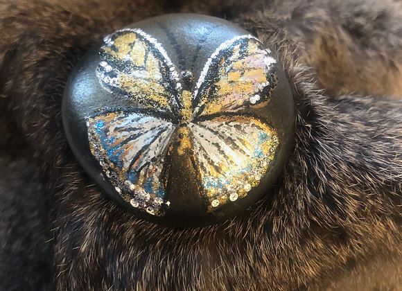 Silver & Gold Butterfly - LoveLife Rock
